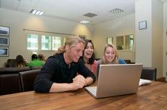 Estudante no terreno imagem de stock royalty free