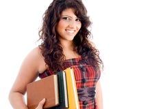 Estudante novo com livros Fotografia de Stock