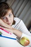 Estudante ocasional imagem de stock