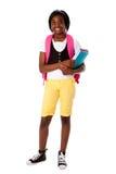 Estudante pronto para a escola Imagem de Stock Royalty Free