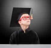 Estudante que sonha de seu futuro Fotos de Stock Royalty Free