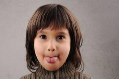 Estudante, série de miúdo inteligente 6-7 anos velho Imagem de Stock