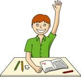 A estudante sabe tudo Foto de Stock Royalty Free