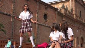 Estudante Teen Girl Dancing filme
