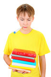 Estudante triste e doente Imagem de Stock