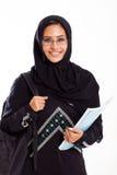 Estudante universitário árabe imagem de stock