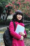 Estudante universitário chinês fotografia de stock royalty free