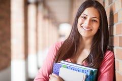 Estudante universitário latino-americano Fotos de Stock
