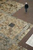 Estudante universitário no terreno Imagem de Stock Royalty Free