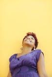 Estudante universitário novo que daydreaming Fotos de Stock Royalty Free