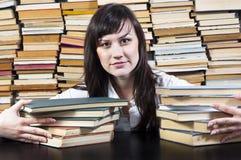 Estudante universitário novo Fotos de Stock Royalty Free