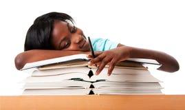 Estudante Unmotivated Fotografia de Stock