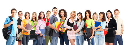 Estudantes Foto de Stock Royalty Free