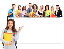 Estudantes Fotografia de Stock