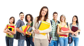Estudantes Fotos de Stock