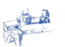 Estudantes Imagem de Stock