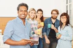 Estudantes como executivos fotos de stock