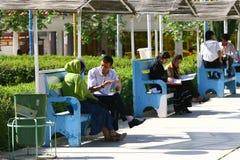 Estudantes da universidade de Sulaimaniya Fotografia de Stock Royalty Free