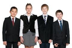 Estudantes de sorriso Fotos de Stock Royalty Free