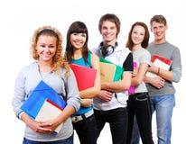 Estudantes de sorriso Fotos de Stock