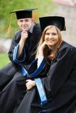 Estudantes de terceiro ciclo novas Fotos de Stock Royalty Free