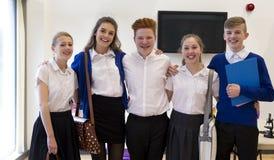 Estudantes em uma sala de aula Fotografia de Stock Royalty Free