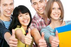 Estudantes felizes Imagem de Stock