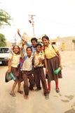 Estudantes felizes Imagens de Stock