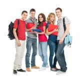 Estudantes felizes junto Foto de Stock Royalty Free