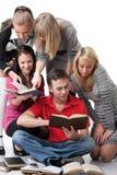 Estudantes inteligentes. Imagens de Stock Royalty Free