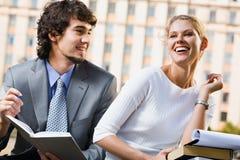 Estudantes na reunião Imagem de Stock