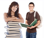 Estudantes novos Imagem de Stock