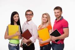 Estudantes novos fotografia de stock