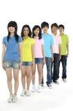Estudantes novos asiáticos Imagem de Stock Royalty Free