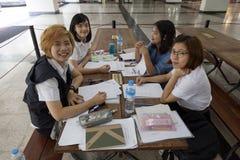 Estudantes que aprendem Fotos de Stock Royalty Free