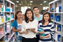 Estudantes universitário imagem de stock