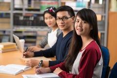 Estudantes universitário asiáticas fotografia de stock
