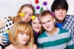 Estudantes universitários junto Imagens de Stock Royalty Free