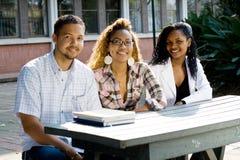 Estudantes universitários Fotografia de Stock