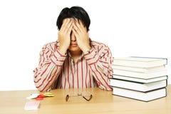 Estude ou cartões de jogo? Imagens de Stock
