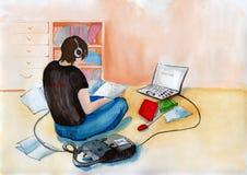estudiante libre illustration