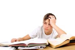 Estudiante aburrido Foto de archivo