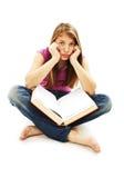 Estudiante aburrido Fotografía de archivo libre de regalías