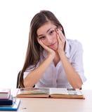 Estudiante aburrido Fotos de archivo