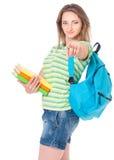 Estudiante adolescente Imágenes de archivo libres de regalías
