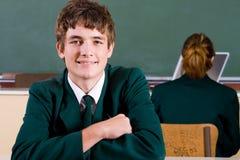 Estudiante adolescente Foto de archivo libre de regalías