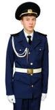Estudiante adolescente de la escuela militar Imagenes de archivo