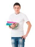 Estudiante adolescente del muchacho Foto de archivo libre de regalías