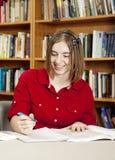 Estudiante adolescente feliz foto de archivo