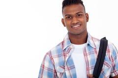 Estudiante adolescente indio Imagen de archivo libre de regalías